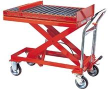 HLH ROLLER CONVEYOR LIFT CARTS