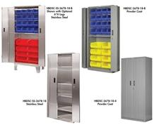 HEAVY DUTY BI-FOLD DOOR CABINETS